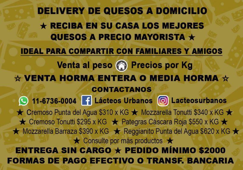 Delivery de Quesos a Domicilio