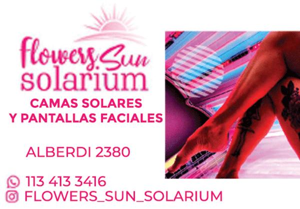 Flowers Sun Solarium